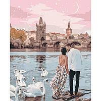 "Картина по номерам ""Прогулка по Праге"" Идейка, 40х50"