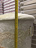 Набор бархатных корзин в ванную комнату ART OF SULTANA 3 предмета сиреневая, фото 2
