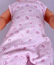 Человечек C+3  #1124 56 см розовый, фото 2