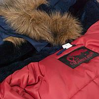 Куртка зимняя slim fit аляска n-3b Navy // РАЗМЕРЫ 48-50, фото 4