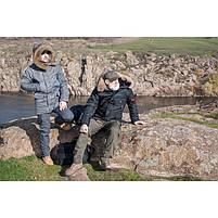 Куртка зимняя slim fit аляска n-3b Navy // РАЗМЕРЫ 48-50, фото 7