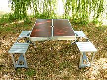 Стол для пикника раскладной с 4 стульями Rainberg, фото 2