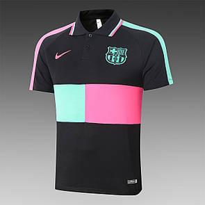Мужская футболка поло Барселона Barcelona 2020