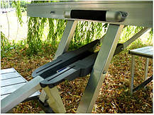 Стол для пикника раскладной с 4 стульями Rainberg, фото 3