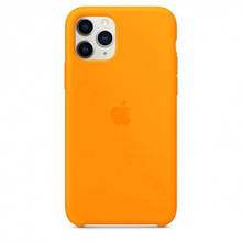 Чехол силиконовый Silicone Case для Apple iPhone 11 Pro Orange