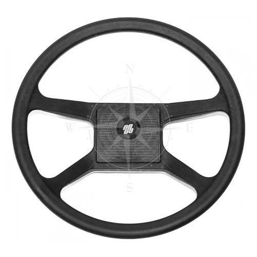 Руль V33, 342 мм, термопластик, чёрный, Ultraflex.