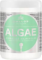 Kallos Kjmn Algae зволожуюча маска для волосся з екстрактом водоростей і оливковою олією 1000мл