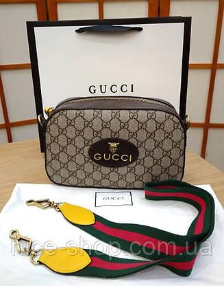 Сумочка Gucci кожаная mini, фото 2