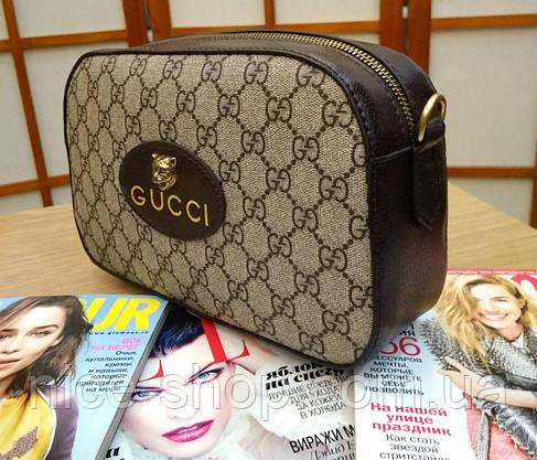 Сумочка Gucci кожаная mini, фото 3