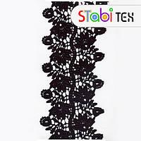 Кружево копанаклы 11856 14см черное
