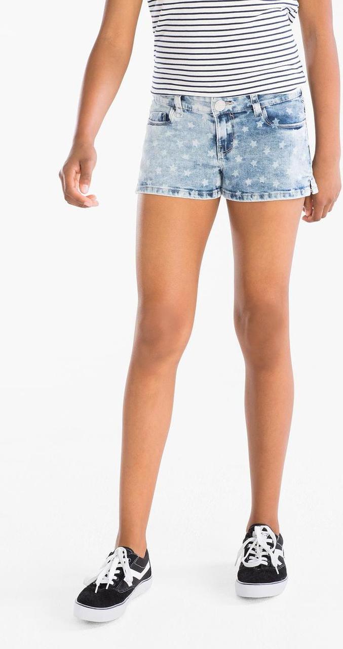 Шикарні джинсові шорти для дівчинки від C&A, Німеччина, розмір 164 см