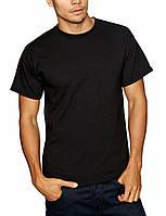 Классическая черная мужская футболка «Fruit of the Loom»