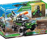 Конструктор playmobil 70460 Приключения на внедорожнике 3в1, фото 1