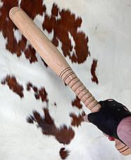 Бейсбольна біта з рельєфною ручкою ( 60см.), фото 2