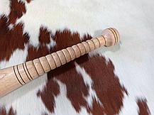 Бейсбольна біта з рельєфною ручкою ( 60см.), фото 3