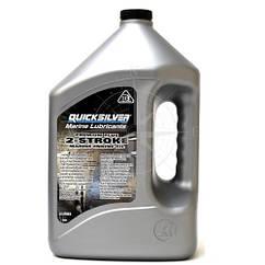 Масло моторное двухтактное Premium Plus TC-W3, 4 литра, Quicksilver.