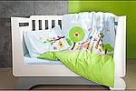 Постельное белье в детскую  кроватку Bird Garden., фото 5