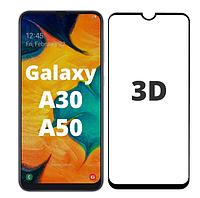 Защитное 3D стекло для Samsung Galaxy A30 A305F (самсунг галакси а30)