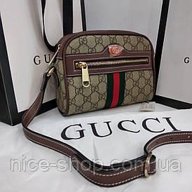 Сумочка Gucci кожаная mini