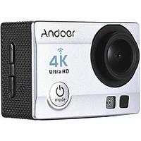 Экшн камера Action Camera Q3H с пультом 24 крепления Grey dr3556, КОД: 1371132