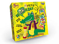 Настольная игра-викторина Мега-крокодил, укр., в кор. 19*4*19см (10шт)