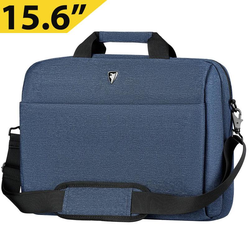 """Сумка для ноутбука 15.6"""" 2E Melange, темно-синяя, нейлон, 425 x 315 x 110 мм (2E-CBN9165NV)"""
