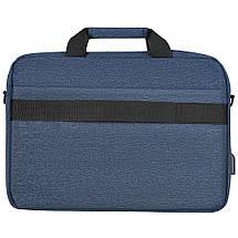 """Сумка для ноутбука 15.6"""" 2E Melange, темно-синяя, нейлон, 425 x 315 x 110 мм (2E-CBN9165NV), фото 3"""
