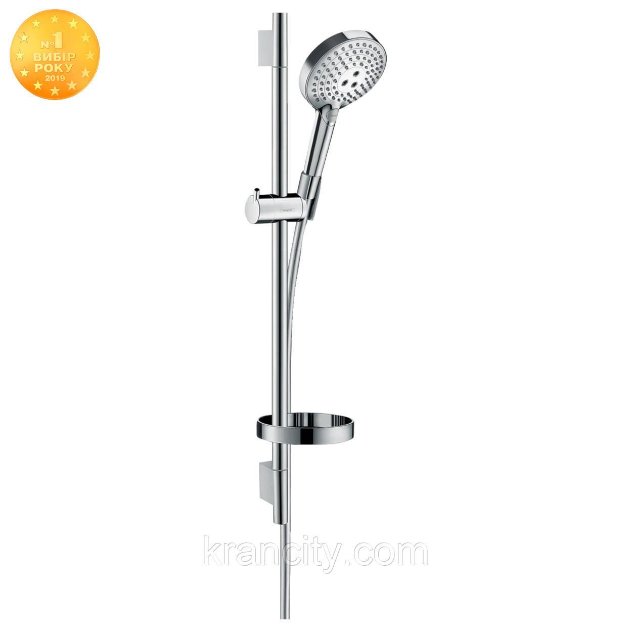 Душевой набор  HANSGROHE 120 3jet P, Powder Rain Raindance Select S 27654000