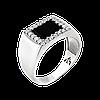Чоловіче кільце з срібла