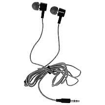 Гарнитура Sven E-109M черно-серые, вакуумные, проводные наушники с микрофном для телефона, навушники свен, фото 3