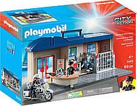 Конструктор Playmobil 5689 Полицейский участок переносной, фото 1