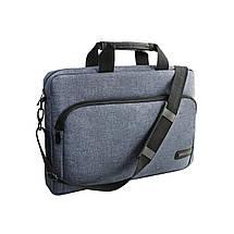 """Сумка для ноутбука 15.6"""" Grand-X SB-139J, блідо-синя, 38 х 26 х 5 см, фото 2"""