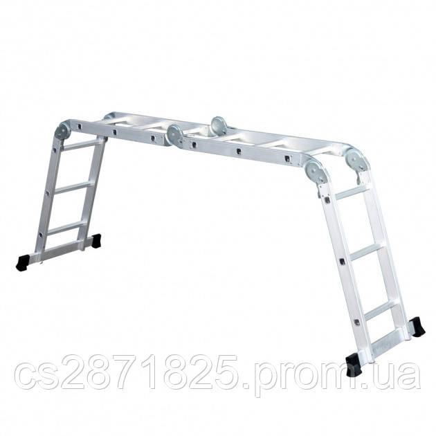 Лестница шарнирная Кентавр 4х4м (1,17м)