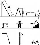 Лестница шарнирная Кентавр 4х4м (1,17м), фото 2