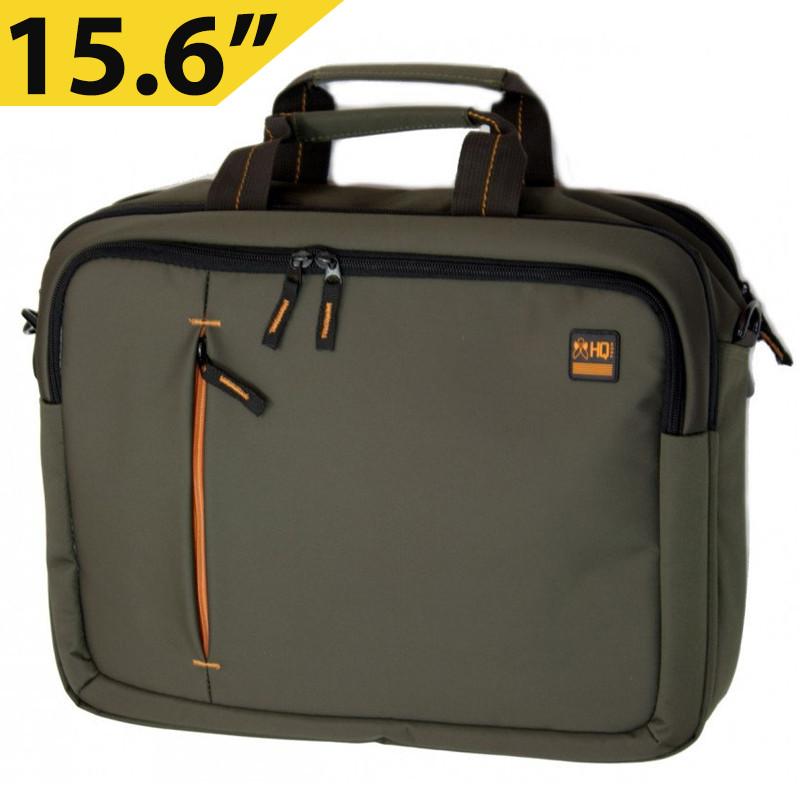 """Сумка для ноутбука 15.6"""" HQ-Tech EE-15522S, Хаки (нейлон)"""