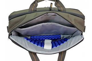 """Сумка для ноутбука 15.6"""" HQ-Tech EE-15522S, Хаки (нейлон), фото 3"""