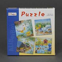 """Деревянная игра """"Пазлы"""" 779-623 (144) в коробке"""