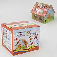 Домик деревянный F 21418 (8) в коробке