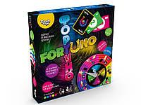 Настольная игра ФортУно, большая, украинскаяв, кор. 25*25*4см (10шт)