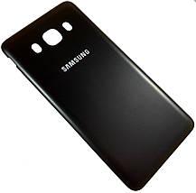 Задняя крышка Samsung Galaxy J5 (J510H, 2016) black, сменная панель самсунг, фото 2