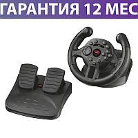 Игровой руль для ПК Trust GXT 570 Kengo Compact Racing, Black для компьютера и PS3