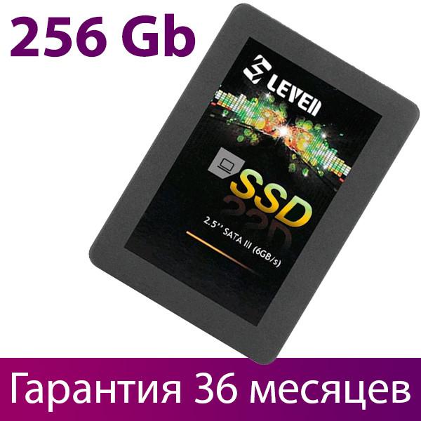 "SSD диск 256 Гб, Leven JS600, SATA3, 2.5"", 3D TLC, 560/440 MB/s (JS600SSD256GB), ссд накопитель"