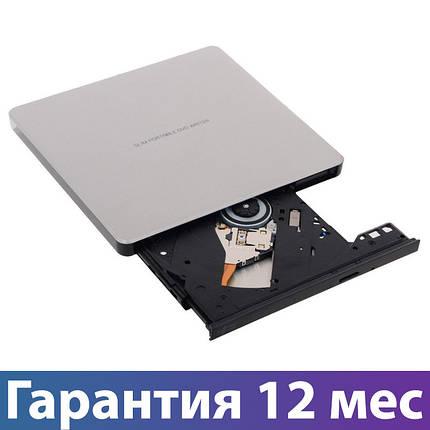 Внешний дисковод для ноутбука LG-Hitachi GP60NS60, DVD+/-RW, USB 2.0, переносной оптический привод, фото 2