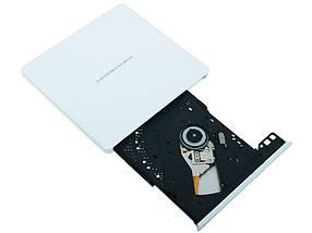 Внешний дисковод для ноутбука LG-Hitachi GP60NW60, DVD+/-RW, USB 2.0 , переносной оптический привод, фото 2