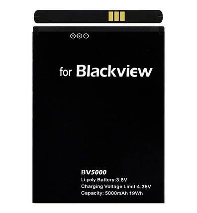 Аккумулятор/батарея Blackview BV5000, фото 2