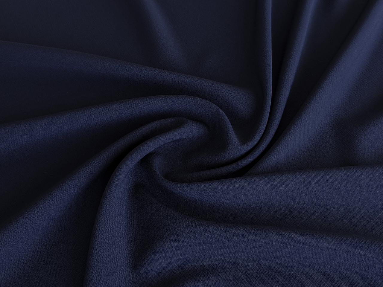 Креп Марьяна, темно-синий