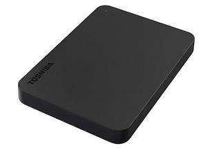 """Внешний жесткий диск 2 Тб Toshiba Canvio Basics, Black, 2.5"""", USB 3.0 (HDTB420EK3AA), фото 2"""