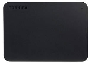 """Внешний жесткий диск 2 Тб Toshiba Canvio Basics, Black, 2.5"""", USB 3.0 (HDTB420EK3AA), фото 3"""
