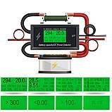 8 в 1; 0-300В, 0-100А Вольтметр, Амперметр, ВАТТметр, Измеритель емкости аккумуляторов, в корпусе, фото 2