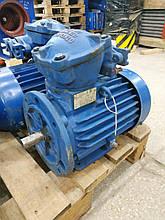 Електричний двигун асинхронний, тип 2B 100 L4 У2,5 чавунний корпус, 4 кВ